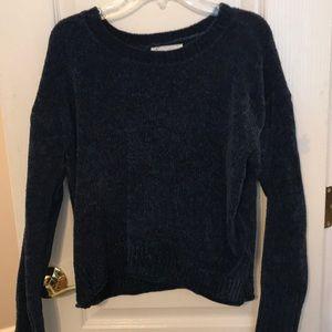 rue 21 navy blue soft sweater